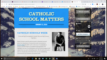 Past Issues of Catholic School Matters