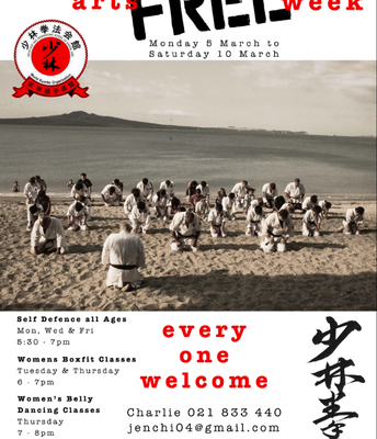 Free Martial Art session