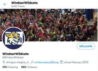 Check out our Windsor Twitter page for different insights into our school days!