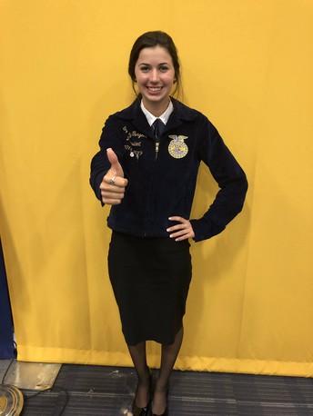 FFA Area V Officer