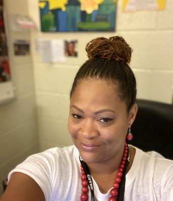 School Social Worker Shea Heyward