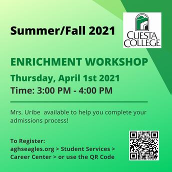 Cuesta Workshop