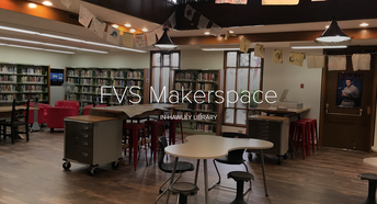 Library Maker Space at Fountain Valley School