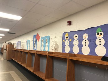 Snowmen in the halls