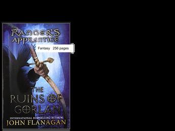 Ranger's Apprentice - Book 1 Ruins of Gorlan by John Flanagan