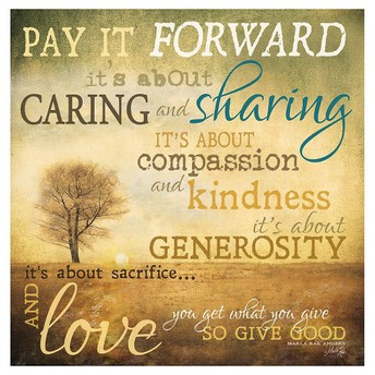 December: Pay It Forward