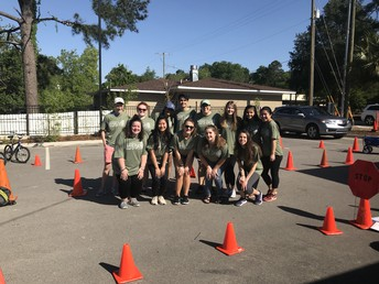 Gators of the Week:  The Key Club Volunteers at Kid's Day Lexington