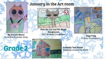 Grade 2 Artwork
