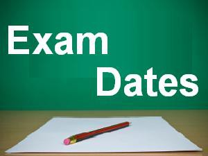 Final Exam Schedule for 9th, 10th and 11th grade Students
