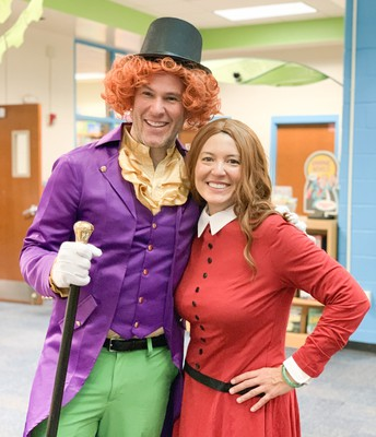 Willy Wonka and Veruca Salt