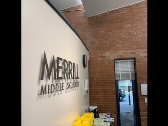 Merrill Office - No visitors or guests at this time.
