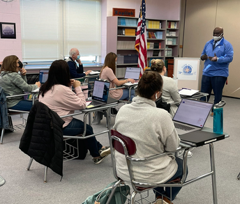 Dr. Ford Addresses the Spring '21 Curriculum Cohort