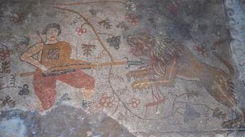 Yunuslar Roman Palace Mosaic