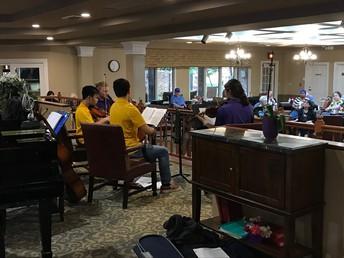 String Orchestra/Chamber Quartet