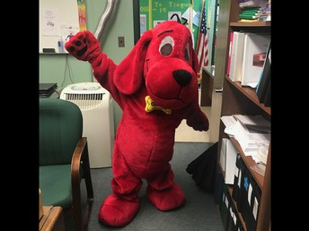 Clifford!! Who is in there?