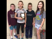 6th Grade Math Cats won 5th place!!