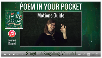 Primary- Poem in Your Pocket with Emily Arrow