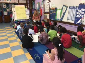 Sra. Bickle Kindergarten Salon # 106