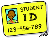 Student IDs - Visible at all times while in the building