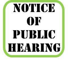 Public Hearing: District School Safety Plan