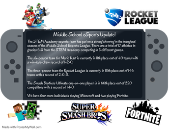 MS eSports Update