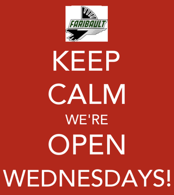 FHS Remains Open on Wednesdays For Drop In Support