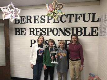 Lundahl Wins Regional Scholastic Bowl in Marengo