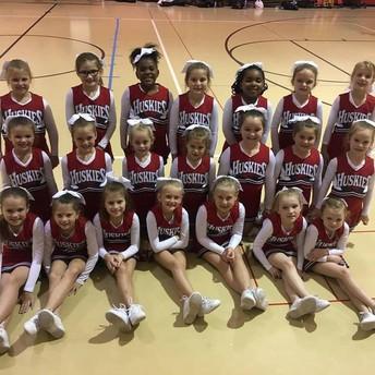 Trussville youth cheerleaders