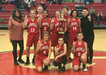 7th Grade Girls Win Championship