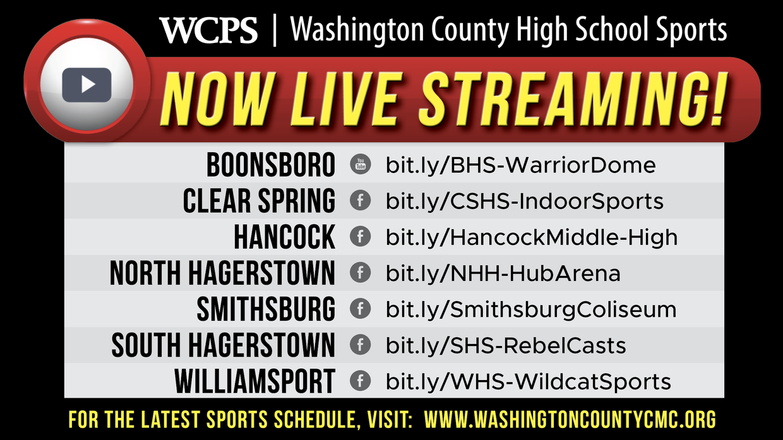Live stream sports URLs