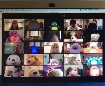 Stuffed Animals Come To Class