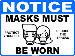 MASKS & SOCIAL DISTANCING COMPLIANCE