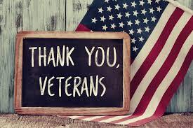 Veteran's Holiday! Mon 11/12