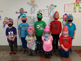 1st Grade Monsters!