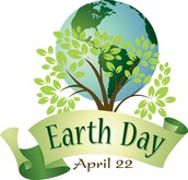 Earth Day is Saturday April 22, 2017
