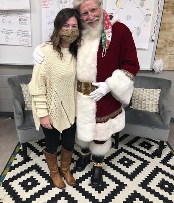 Santa & Mrs. Theiss