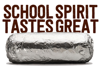 Chipotle Fundraiser Tomorrow!