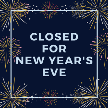 Closed for New Year's Eve