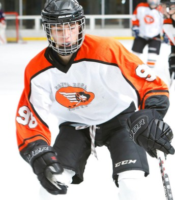 Cole Charbonnier, Dedicated Hockey Player!