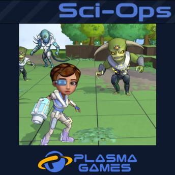 Sci-Ops Plasma Games screenshot