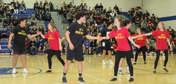 Silver Sensations Dance with Senior Boys