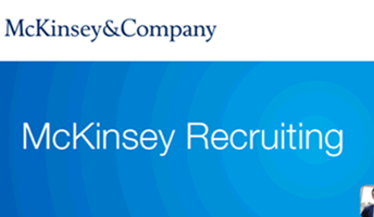 McKinsey & Company coffee chats and  General Info Session and Case Workshop