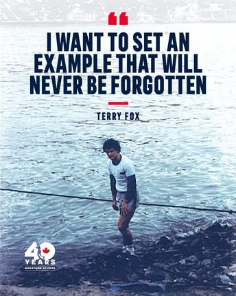 Terry Fox Run - September 28