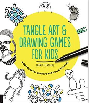 Tangle Art & Drawing Games For Kids