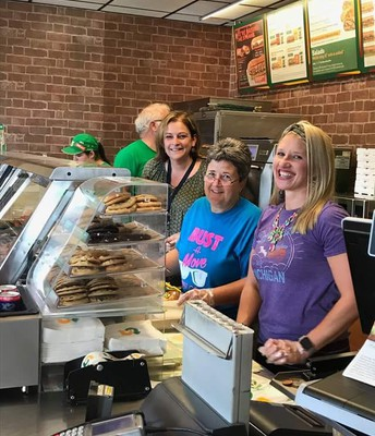 Subway Day Fundraiser with our Elementary School Principals!