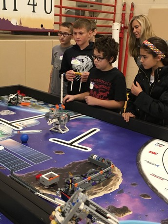 LEGO League Lifts Off!