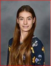 Congratulations to District Boomerang Winner for October, 7th Grader Hannah Kauffman!