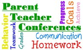PARENT TEACHER CONFERENCES COMING...