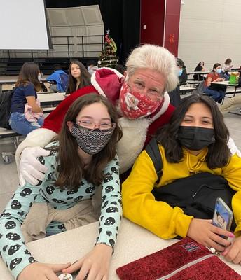 Santa Nick's new friends!