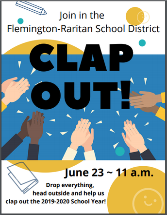 Last Day Clap Out - Tuesday, June 23, 11 AM